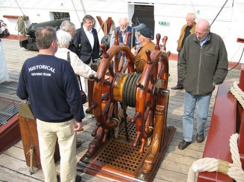Besøg af Historcal Diving Society England 2006