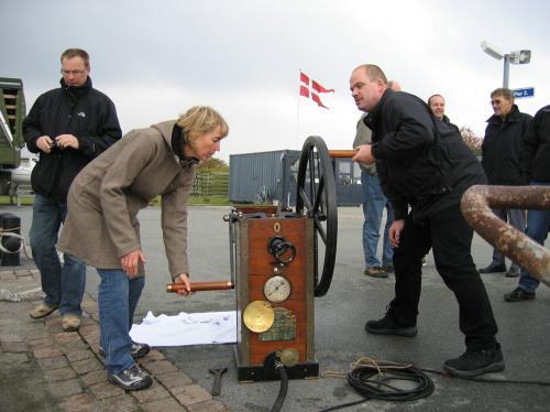 Nordisk Dykkehistorisk Træf Flådestationen Frederikshavn 2007